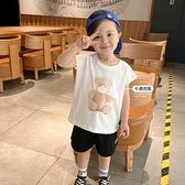 背心 男童無袖背心T恤夏裝夏季兒童小童幼兒童裝洋氣上衣外穿潮薄X2804【快速出貨】
