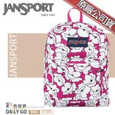 JANSPORT後背包包大容量JS-43501-0EG紅粉花