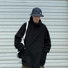 衝鋒衣 日系原宿大口袋沖鋒衣外套港風潮流寬松套頭連帽夾克工裝外套上衣