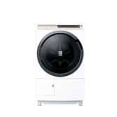 回函贈 日立11.5公斤滾筒洗脫烘(與BDSV115EJ同款)洗衣機星燦白BDSV115EJW