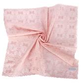 WEDGWOOD 浪漫刺繡紡紗綿材質帕巾(粉色)989219-7