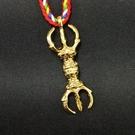 三股金剛杵 吊飾 項鍊