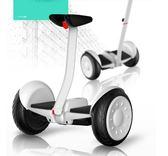 兒童成人電動代步車智能體感帶扶桿平衡車GZG4130【每日三C】