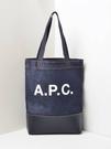 ■專櫃83折■ 全新真品■A.P.C. Paris Axelle 牛仔帆布托特包