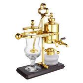 金時代書香咖啡 Tiamo CF-450 比利時壺 維也納壺 虹吸咖啡壺 免用濾布 金色