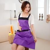 【買一送一】日繫圍裙防水防油廚房【步行者戶外生活館】