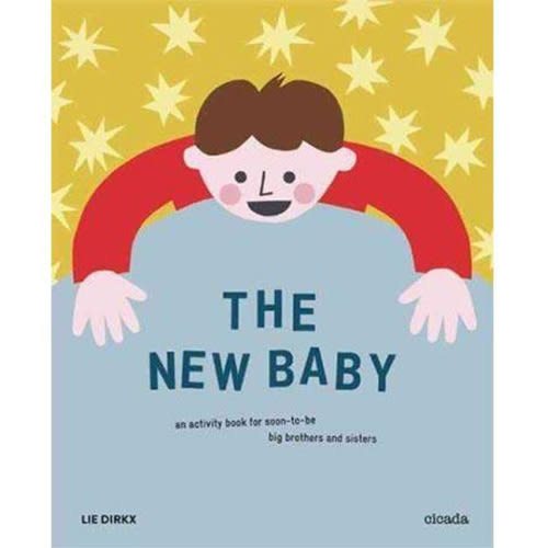 The New Baby An Activity Book For Soon-To-Be Big Brothers And Sisters 新生寶寶 活動著色書