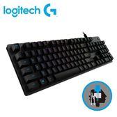 【logitech 羅技】G512 RGB 機械遊戲鍵盤 (青軸) 【贈手搖飲料杯套】