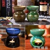 泰式蠟燭香薰燈精油爐大容量美容院臥室內家居創意靜音加濕熏香爐 可然精品