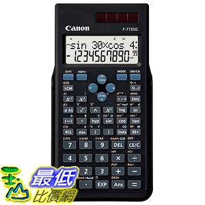 [東京直購] Canon 科學用計算機 F-715SG-BK SOB 函數計算 適合地政士 土木技師考試用