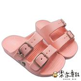 【樂樂童鞋】台灣製冰雪奇緣拖鞋 F074 - 女童鞋 兒童拖鞋 涼鞋 拖鞋 勃肯鞋 大童鞋 台灣製 現貨