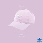 IMPACT Adidas Originals Trefoil Cap 淡粉 老帽 棒球帽 三葉草 男女 DJ0882