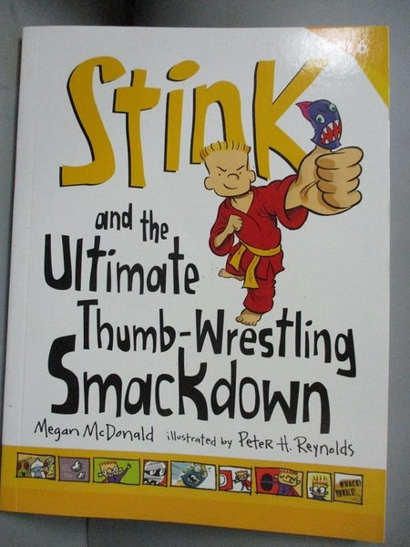 【書寶二手書T1/原文小說_LKT】Stink and the Ultimate Thumb-Wrestling Smackdown