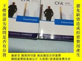 二手書博民逛書店2018罕見LEVEL I CFA BOOK 1-2Y31098
