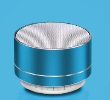 藍芽喇叭音響-A10藍芽音箱鋁合金插卡U盤電腦低音炮無線迷你藍芽音響小鋼炮 提拉米蘇