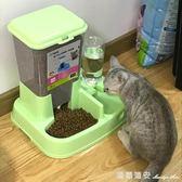 貓咪用品貓碗狗碗雙碗自動飲水貓食盆自動喂食器狗盆寵物狗狗用品 瑪麗蓮安igo
