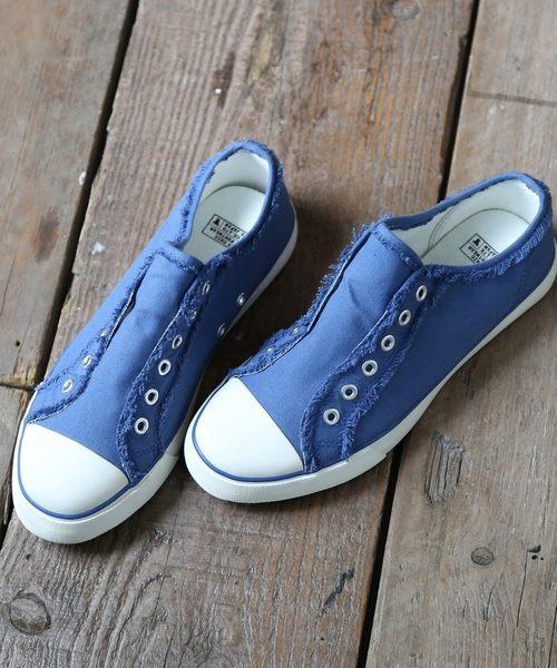 出清 帆布懶人鞋 運動鞋 休閒鞋 開口笑 現貨 免運費 日本品牌【coen】