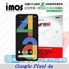 【現貨】Google Pixel 4a iMOS 3SAS 防潑水 防指紋 疏油疏水 螢幕保護貼