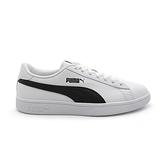 PUMA Smash V2 L 男女款 黑白 皮革 基本 休閒鞋 365215-01