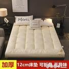 加厚床墊12cm床褥子1.5m1.8米單...