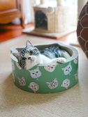 貓頭造型貓抓板貓窩 高密度瓦楞紙耐磨送貓薄荷