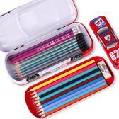 多功能鐵筆盒幼兒園雙層子母筆盒小學生1-3年級文具盒學生用品