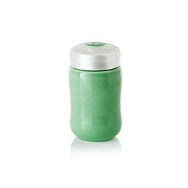 【收藏天地】乾唐軒活瓷系列*快樂隨身杯 果綠款 ∕按摩 舒緩 碧璽 電氣石 養生 健康 負離子