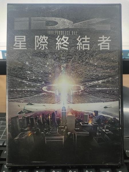 挖寶二手片-0B01-006-正版DVD-電影【ID4星際終結者】-絕地戰警-威爾史密斯*白宮末日導演(直購價)