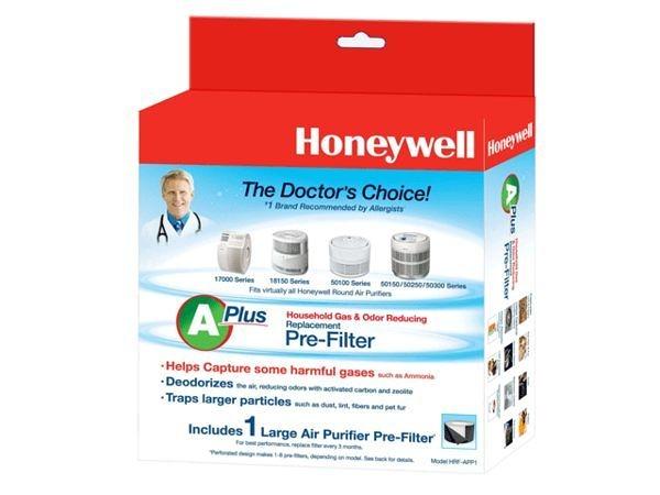 Honeywell CZ 除臭濾網 HRF-APP1/HRFAPP1 一組兩盒 適用console100 200 300 HPA-300APTW