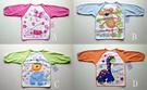 [Mamae] 美國 Luvable Friends 超可愛動物造型兒童吃飯衣 毛巾布手袖  畫畫衣 防水圍兜