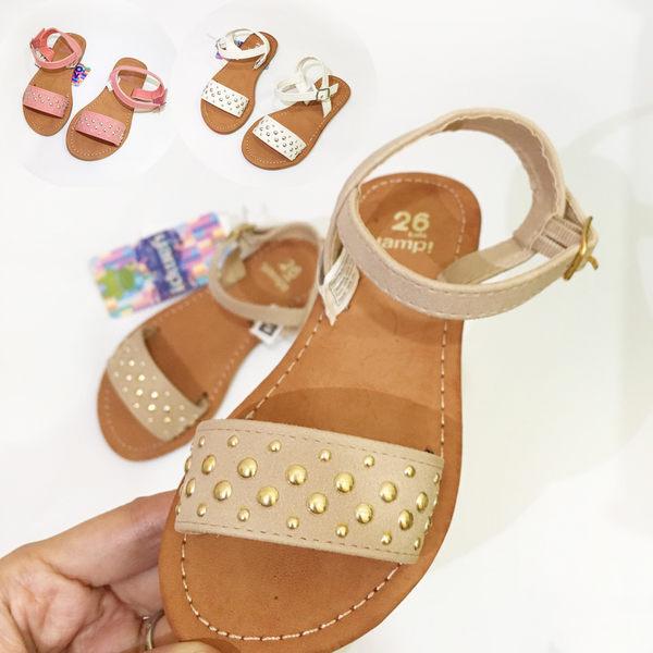 經典鉚釘簡約涼鞋 窄版腳版有肉不適合此款  橘魔法 Baby magic 現貨 童鞋 童裝 兒童