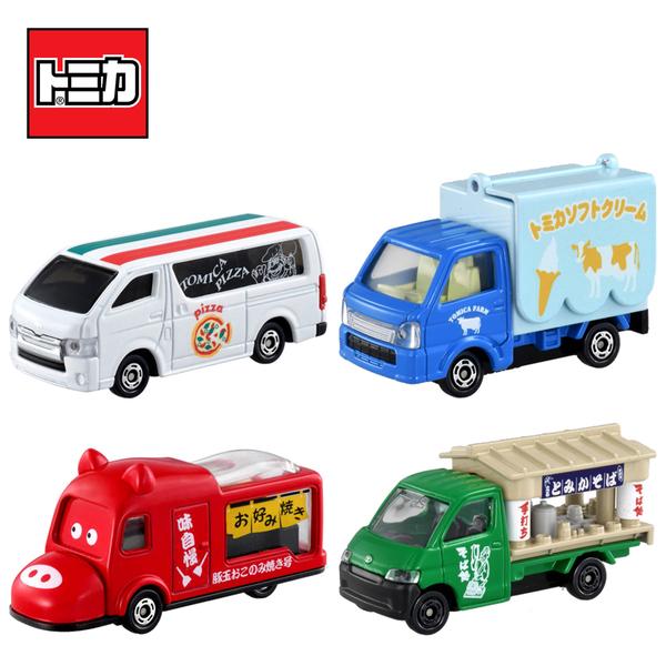 【日本正版】TOMICA 食物餐車車組 屋台車車組 餐車 屋台車 玩具車 多美小汽車 - 176510
