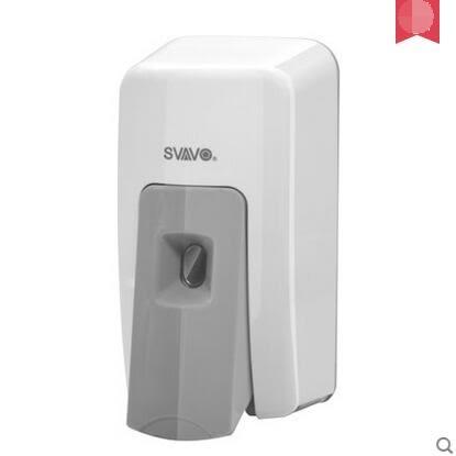 壁掛式手動皂液器洗手間泡沫洗手液盒浴室皂液盒