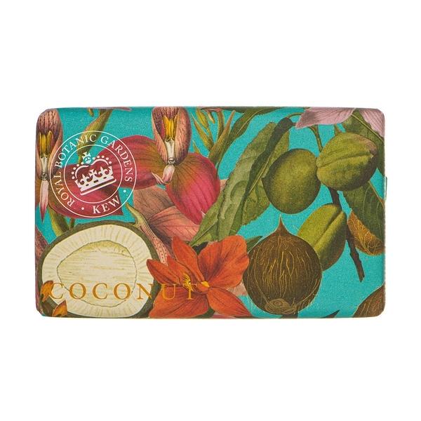 岡山戀香水~Kew Gardens 英國皇家植物園 乳木果油天然香皂 240g (椰香) ~優惠價:299元