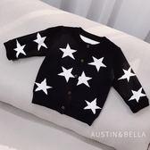 寶寶外套 ins風 男寶寶針織衫開衫0-1-2歲嬰兒毛衣外套嬰幼兒秋裝薄款外套 小宅女