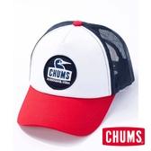 CHUMS 日本 Booby Face 棒球帽 紅白藍-CH051158N010