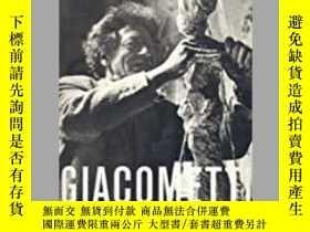 二手書博民逛書店Giacometti:Sculptures,Prints罕見an