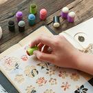 【BlueCat】兒童DIY印章海綿指套...