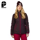 PROTEST 女 機能防水保暖外套 (暗熔岩) KOBUK SNOWJACKET