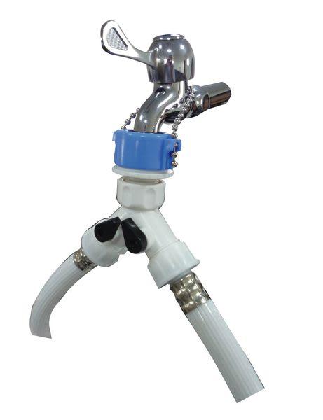 水栓用給水三通(6分牙)