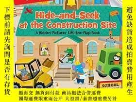 二手書博民逛書店(62)Hide-and-Seek罕見at the Construction Site: A Hidden Pic