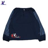 【春夏新品】American Bluedeer - 花條泡泡袖衣(特價) 春夏新款
