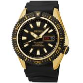 SEIKO精工錶 SUPERIOR 黑金潛將機械腕錶4R36-02Z0K黑金配色SRP510J1