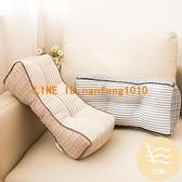 日本多功能腰枕頭星雨布棉麻休閒枕腰靠 舒適腰枕【白嶼家居】