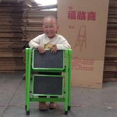 福臨喜家用小折疊梯凳二步梯TIZI 加厚鐵鋼管踏板凳高人字梯子☌zakka