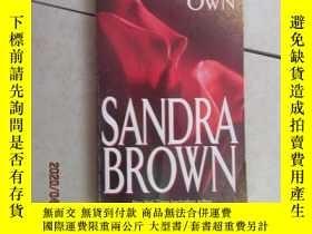 二手書博民逛書店英文書:SANDRA罕見BROWN THE DEVIL S OWN 共248頁 32開 詳見圖片Y15969