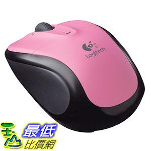 [美國直購 ShopUSA]羅技 Logitech V220 Cordless Optical Mouse for Notebooks (Rose Pink) $805