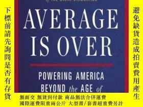二手書博民逛書店Average罕見Is OverY256260 Tyler Cowen Plume 出版2014