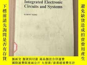 二手書博民逛書店integrated罕見electronic circuits and systems(P3627)Y1734