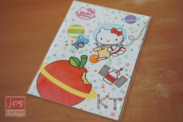 Hello Kitty 太空 B5 筆記本 (蘋果)